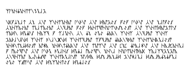 The text in Bukhstav Runes should be here, honest!