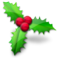 VistaICO Christmas-PNG-Christmas-Holly.png-256x256.png
